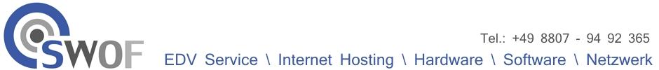 SWOF IT-Service